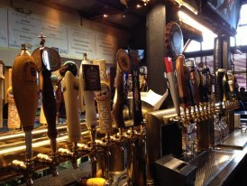 46 Draft Beer Choices - over half are local!