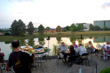 <p>It is hard to find outdoor dining as nice as this anywhere else in Cincinnati!</p>